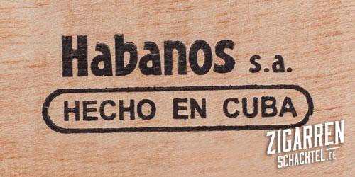 Brandzeichen Hecho en cuba – maschinell gefertigt