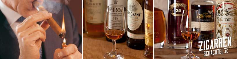 Seminare & Tastings für Whisky, Rum und Zigarren