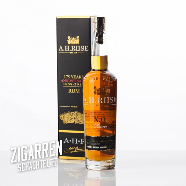 A. H. Riise X.O. Reserve Rum 175 Anniversary