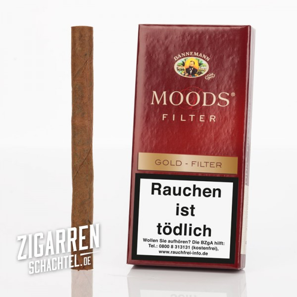 Dannemann Moods Gold Filter 5er Packung