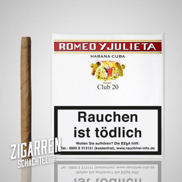 Romeo y Julieta Club 20er Box