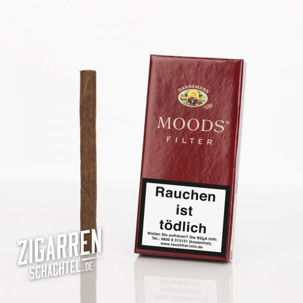 Dannemann Moods Filter 5er Packung
