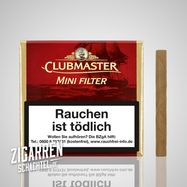 Clubmaster Mini Filter Red