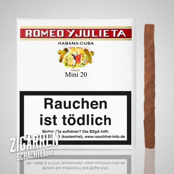 Romeo y Julieta Mini 20er Box
