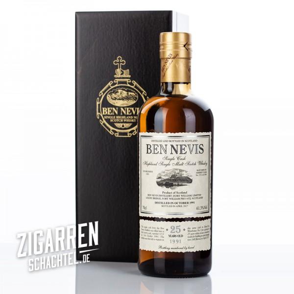Ben Nevis 25 Jahre Single Cask No. 3711