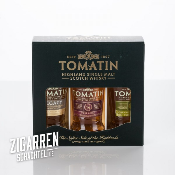Tomatin Whisky Set Coopers Choice