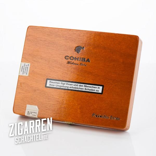 Cohiba Piramides Extra 10er Zigarrenkiste - leer
