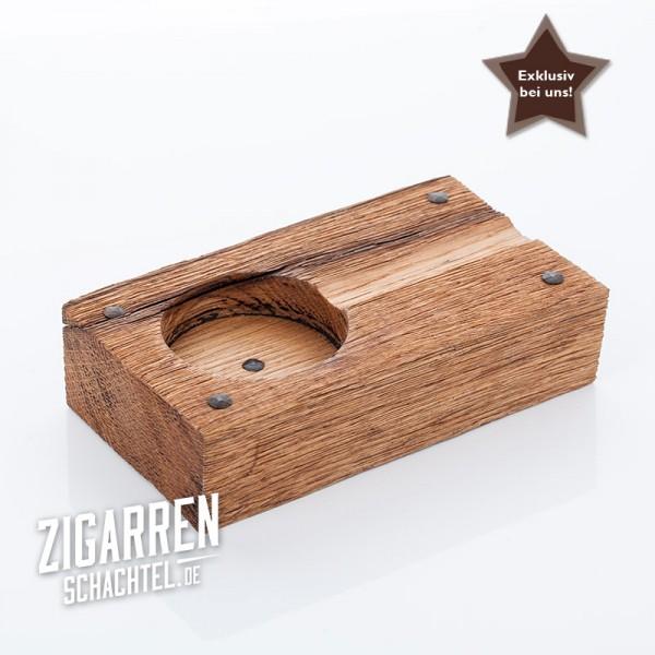 Aschenbecher The Oak rustikal