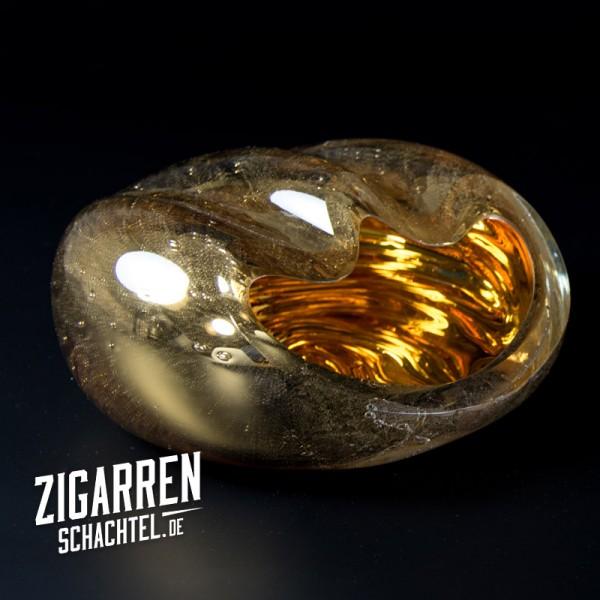 Aschenbecher Salamander Gold Crystal
