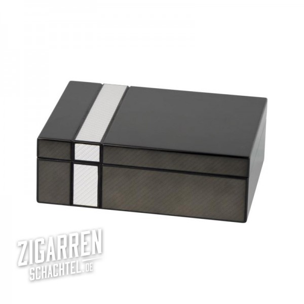 Humidor-Set zweifarbig mit Laserfinish für 25 Zigarren