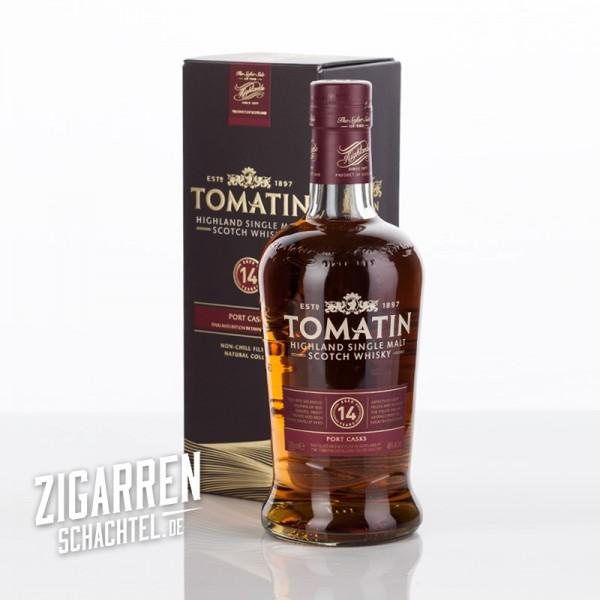 Tomatin Whisky 14 Jahre Port Wood Finish