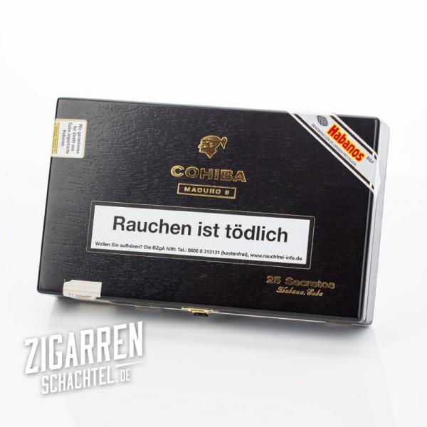 Cohiba Maduro 5 Secretos 25er Zigarrenkiste - leer