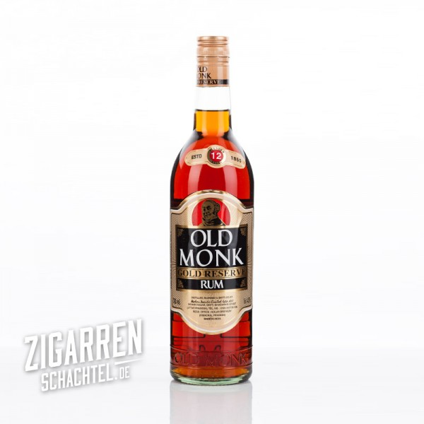 Old Monk Rum 12 Jahre Gold Reserve