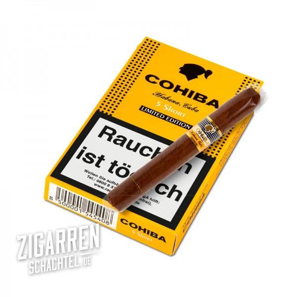 Cohiba Short Limitada 5er Packung