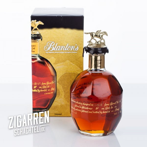 Blanton's Gold Edition Single Barrel