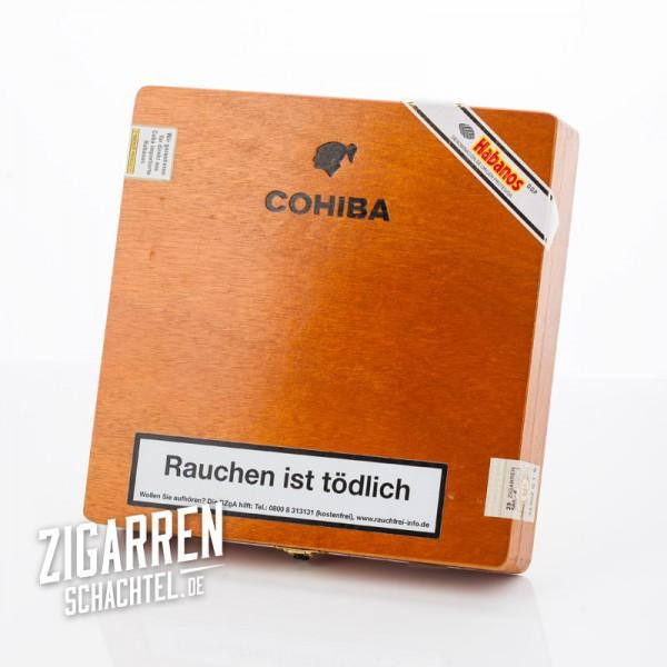 Cohiba Lanceros 25er Zigarrenkiste - leer