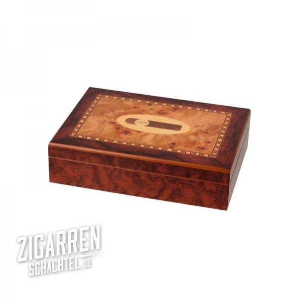 Echt-Holzdekor Humidor für 20 Zigarren