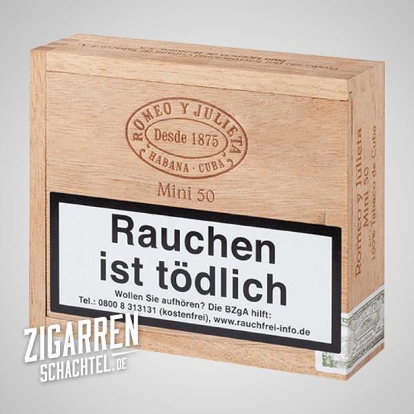 Romeo y Julieta Mini 50er Holzbox