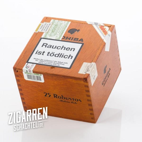 Cohiba Robusto 25er Zigarrenkiste - leer