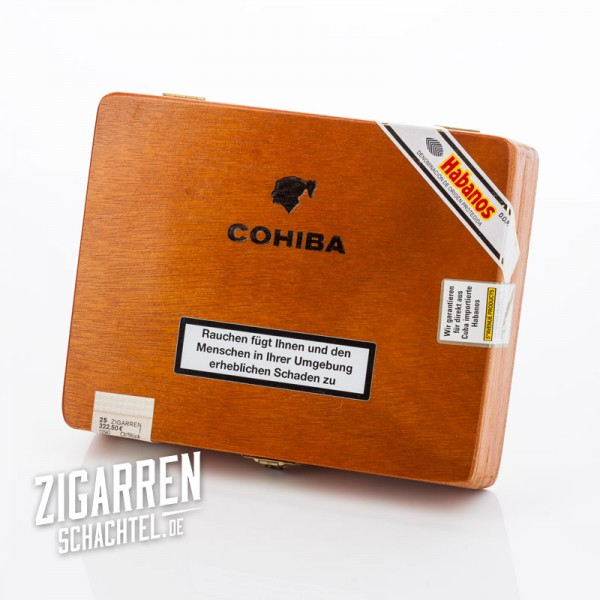 Cohiba Exquisitos 25er Zigarrenkiste - leer
