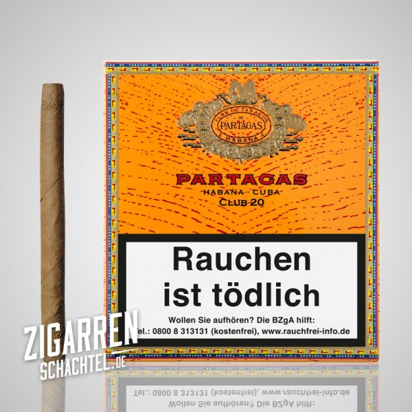 Partagas Club 20er Box